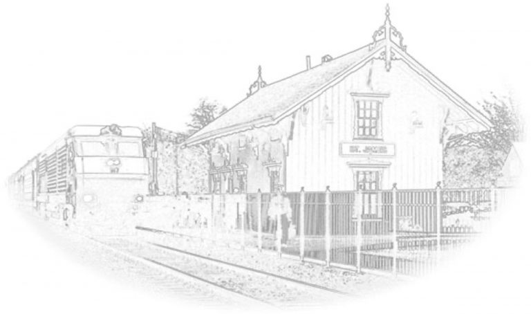 St. James Train Station Sketch